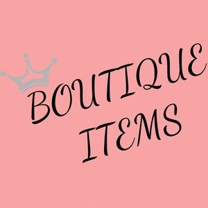 👑BOUTIQUE ITEMS COMING SOON👑